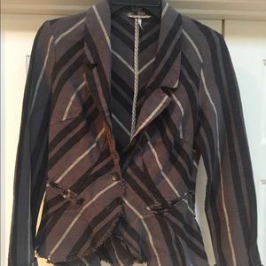 Free People relaxed blazer jacket